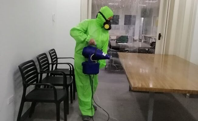 Germ-free for all the hardworking employees during this trying time